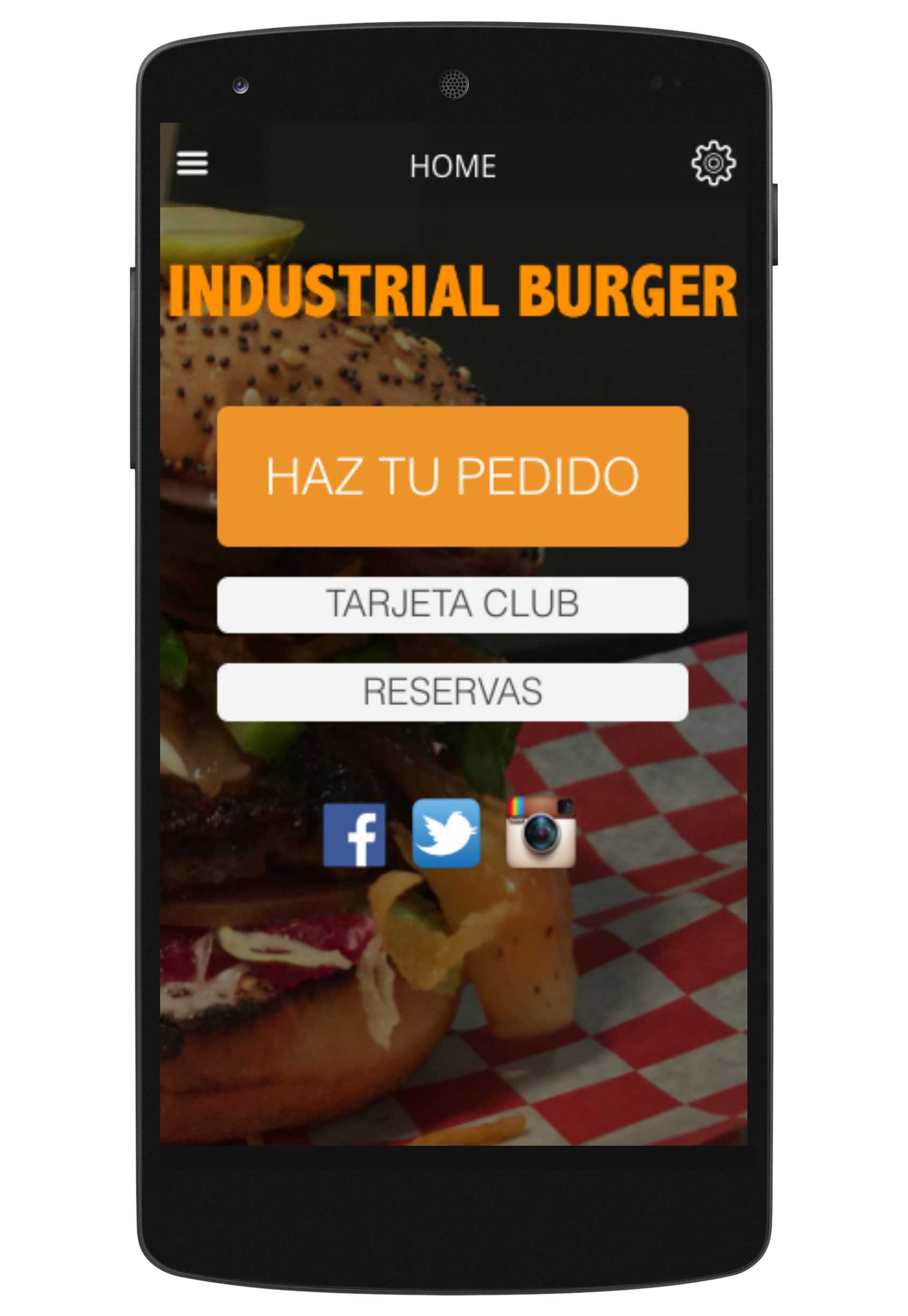 Industrial Burger